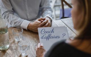 Réunion de coach d'affaires