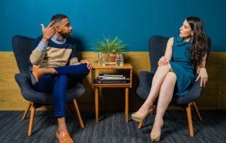 communication entre un homme et une femme
